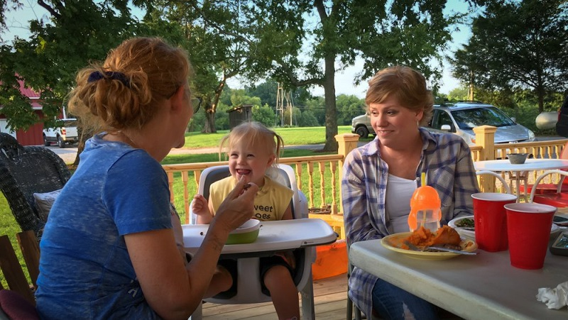 Rory Feek's garden party