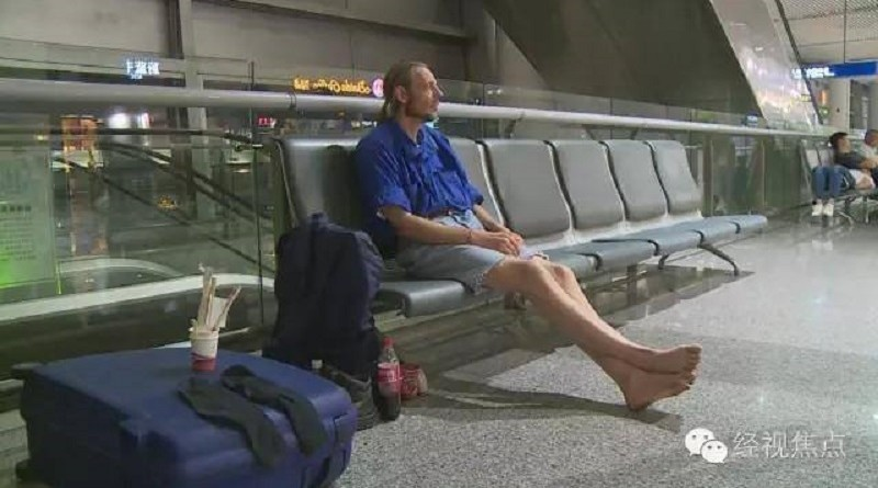 Dutch man waits 10 days in Chinese airport for online girlfriend, who never shows up