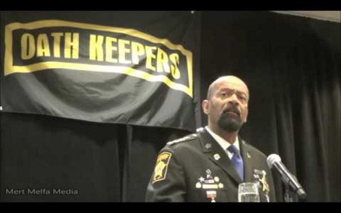 """Our government is corrupt"", says Sheriff David Clarke"