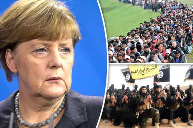 Chancellor Angela Merkel admits she REGRETS open-door migrant policy