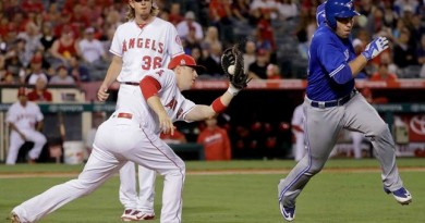 Tulo, Encarnacion slug Blue Jays to 5-0 win over Angels