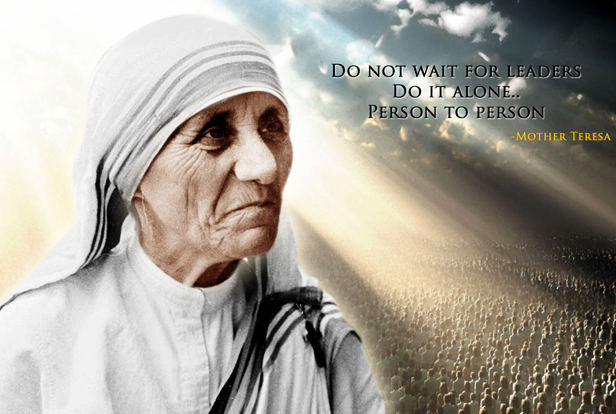 Mother Teresa, elevated to Sainthood