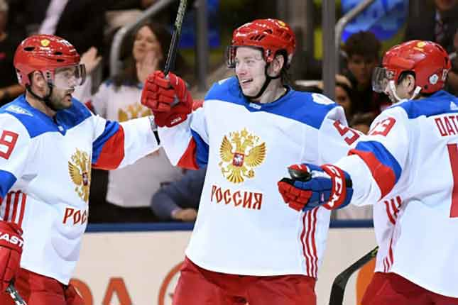 North America shows youth in loss to Russia