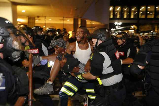 Black Trump Supporter: Obama planned the Charlotte riots