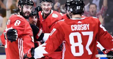 Canada beats Russia 5-3 to move on to World Cup of Hockey final