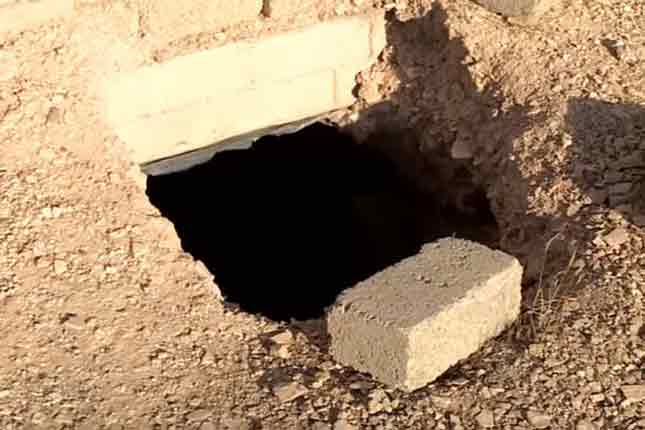 Detailed look into an ISIS tunnel