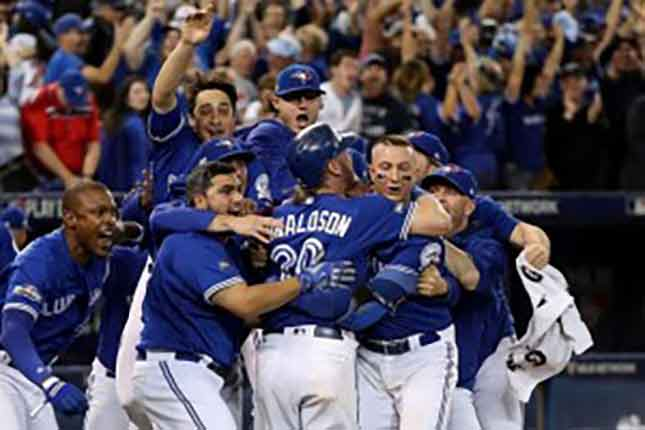 Josh Donaldson's dash leads Blue Jays into ALCS