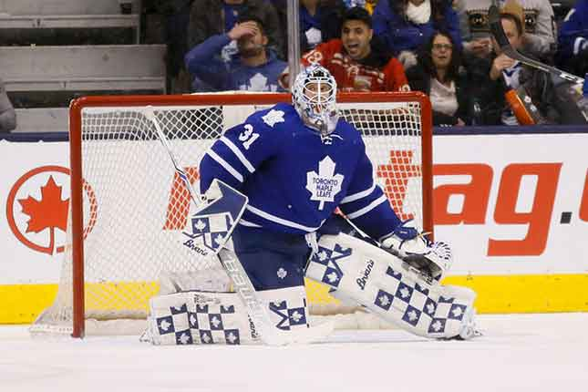 Garret Sparks suspended indefinitely by Leafs