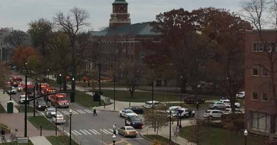 BREAKING: Ohio State University tweets that active shooter is on campus and students should 'Run Hide Fight'