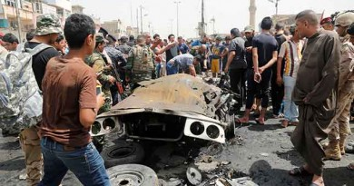 Video exposes crisis actors faking an ISIS car bombing - Mainstream media reports it as REAL