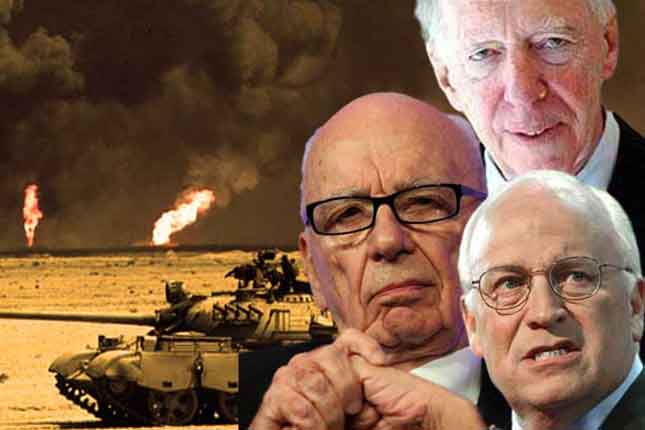 Rothschilds, Cheney, and Murdoch launch massive oil drilling project in Syria