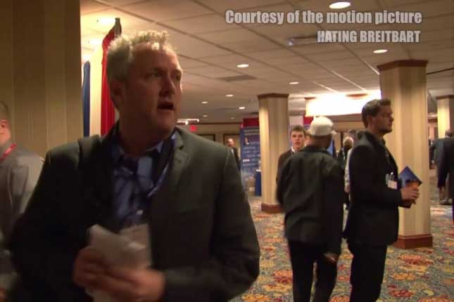 "Andrew Breitbart: ""f**k you John Podesta"" - Andrew Breitbart is dead now!"