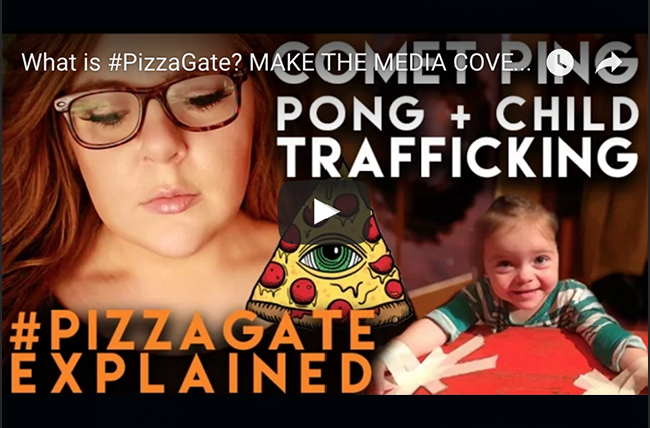 What Is Pizzagate Make The Media Cover This Socialmediamorning Com