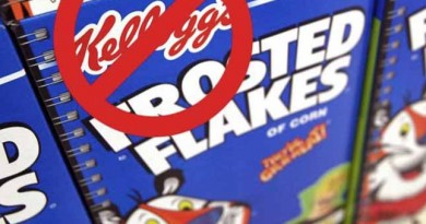 Kellogg's Facebook page erupts with #DumpKelloggs messages for blacklisting Breitbart