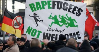 Islamic migrants attempt to rape a European female (VIDEO)