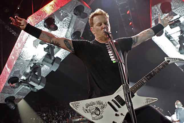 Metallica's James Hetfield on the future