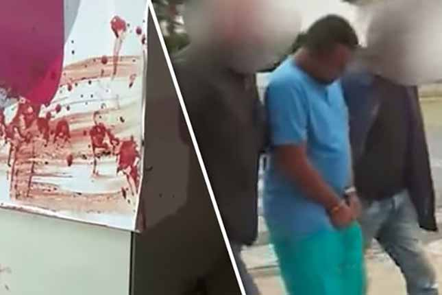 GRAPHIC CONTENT: 'Blood was everywhere' Migrant arrested after pensioner raped and beaten