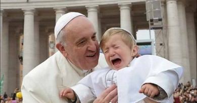 Pope Francis charged in 'trafficking orphans' trial