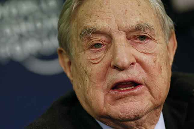 Convicted felon GEORGE SOROS vows to 'take down President Trump'