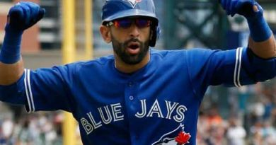 "Jose Bautista ""happy"" to be back in Toronto"