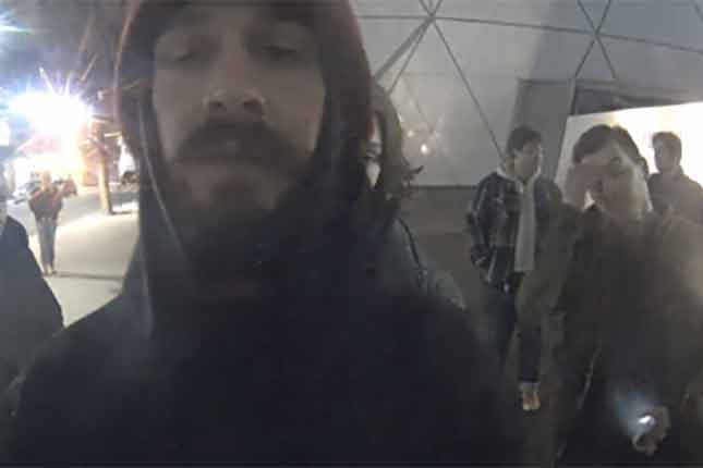 Shia LaBeouf arrested during anti-Trump live stream