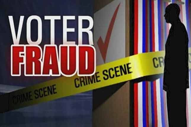 More Democratic VOTER FRAUD on a massive scale