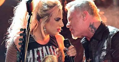 James Hetfield pissed as Metallica and Lady Gaga encounter audio issues at Grammys