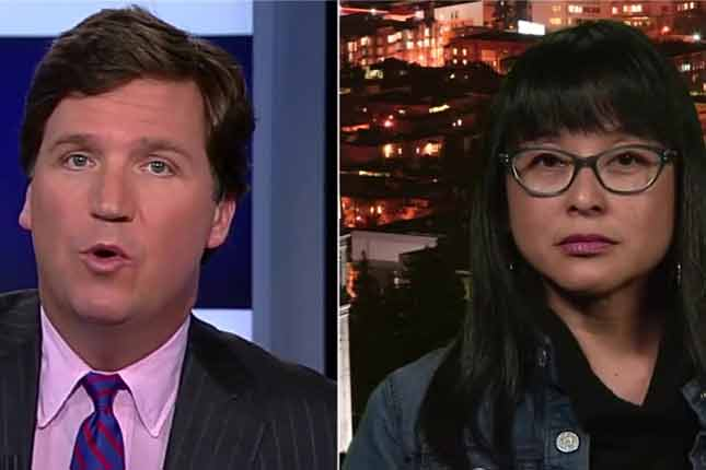 Tucker Carlson debates the organizer of UC Berkeley Riots (VIDEO) - You must see this!