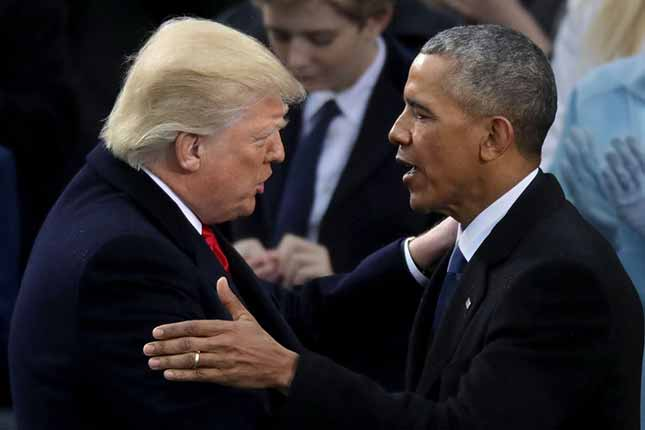 How Obama is scheming to sabotage Trump's presidency