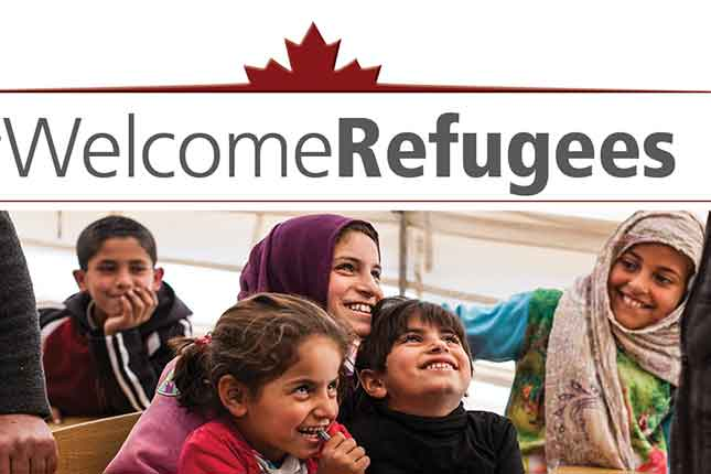 Syrian refugee 'mother' hits Canadian boy with a brick (VIDEO)